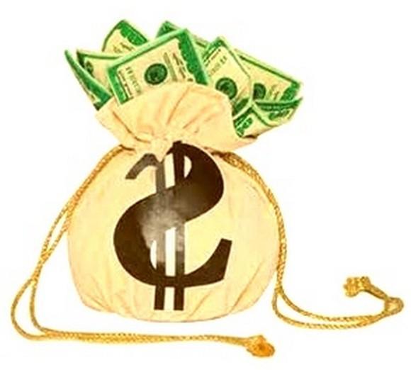 Где выгодно взять кредит - мешок с долларами