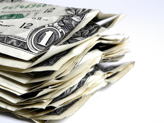 Как правильно взять кредит - один мятый доллар