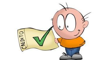 Взять потребительский кредит - человечек с илсточком