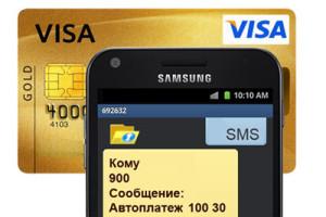 Мобильный банк Сбербанка России инструкция - мобильный банк