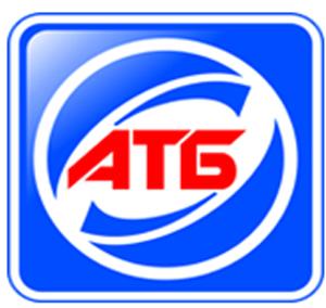 кредиты онлайн АТБ - логотип банка синий