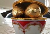 Золото цветное: белое, желтое, черное - яйцо фаберже
