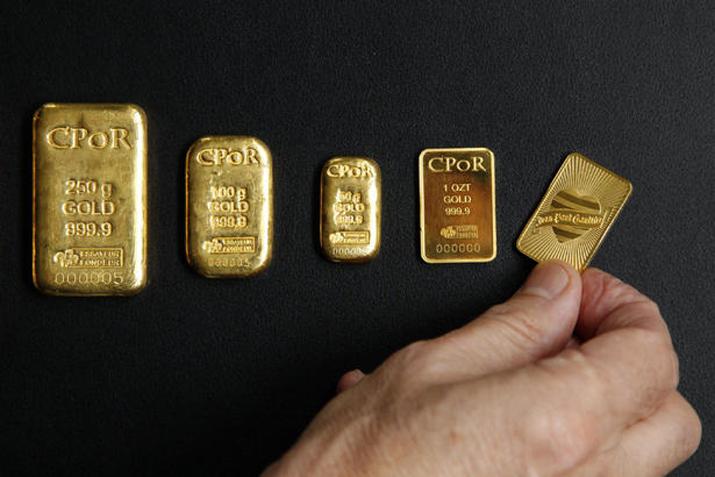 Золотые слитки: какими они бывают? - виды слитков