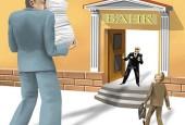 что нужно чтобы взять кредит-большой человек с документами перед банком
