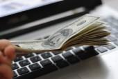 подать заявку онлайн кредит Сбербанк-деньги на клавиатуре