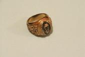 585 проба золота - кольцо